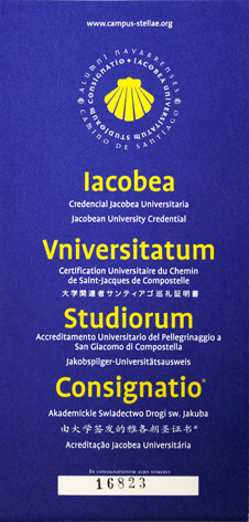 Credencial Jacobea Universitaria